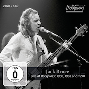 Review: Jack Bruce - Live At Rockpalast 1980, 1983 And 1990