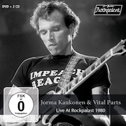 DVD/Blu-ray-Review: Jorma Kaukonen & Vital Parts - Live At Rockpalast 1980
